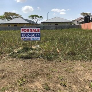 FOR SALE – Olive Grove, Mc Bean, Couva – Level land in gated community