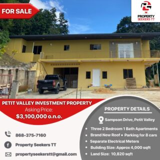 Petit Valley Apartment Building For Sale