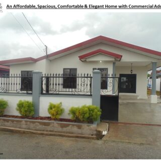 Brazil – Jai Court: Affordable, Spacious, Comfortable and Elegant Home with Commercial Addition