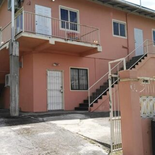 For Rent: Union Hall San Fernando, 3 Bedroom 2 Bath Unfurnished Downstairs Apartment