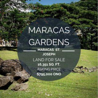 Land for Sale: Maracas Gardens St. Joseph