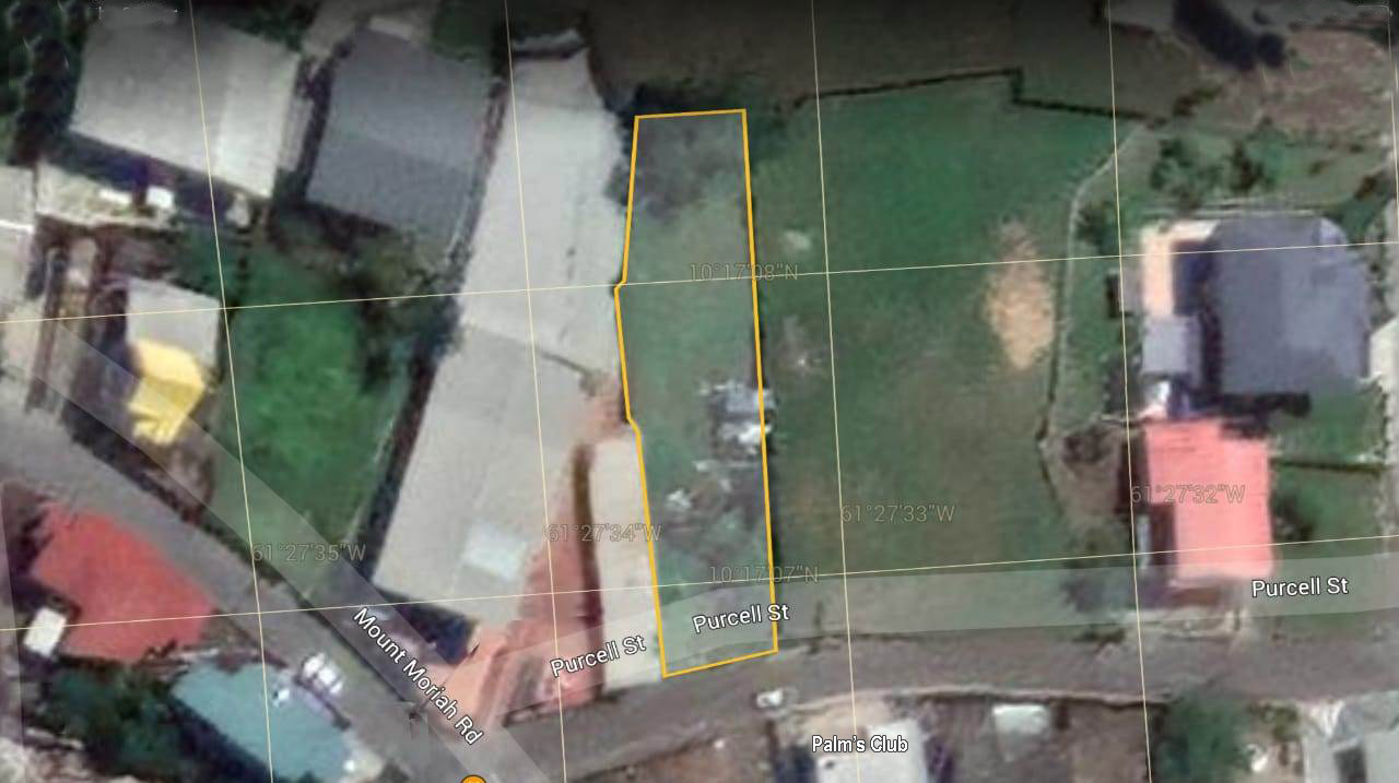 Land For Sale: Purcell Street, Vistabella, San Fernando