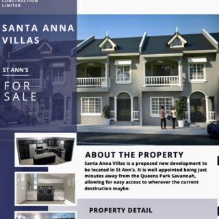 St Ann's Santa Anna Villa $2.045-$3.1