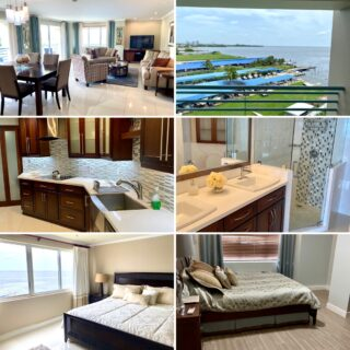 TOTALLY UPGRADED 3 BEDROOM, 2 BATHROOM BAYSIDE TOWERS FOR SALE-WEST