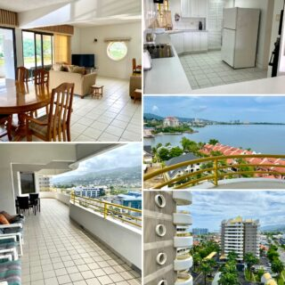 3 BEDROOM, 3 BATHROOM APARTMENT LOCATED IN THE TOWERS-WESTMOORINGS ON THE SEA