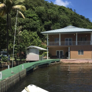Monos Island, Collens Bay, Down the Island House for Rent
