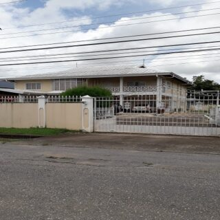 FOR SALE – LARGE TWO STOREY HOUSE ON 21,000SF FLAT LAND – ST. AUGUSTINE $6.5M