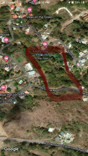 Tobago Mount Irvin Land