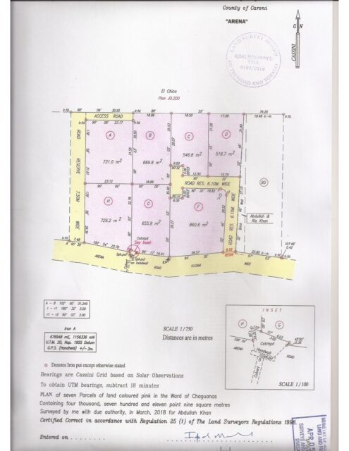 Exclusive 7 lot development in Central
