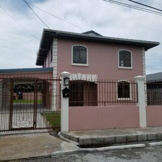 House for rent – Greenvale Gardens off Soogrim St Chaguanas TT$8,000