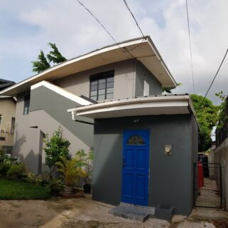 Tastefully finished, 2 AC bedrooms, 2 baths, UF, pet-friendly Woodbrook TH now available for rent on small private compound.