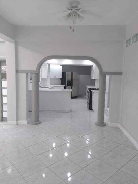 NEWLY RENOVATED HILLSBORO MARAVAL 2 BED APT.FOR RENT TT$5,500 MTH