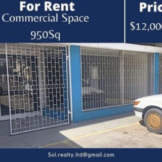 Commercial Space – Southern Main Rd,Couva