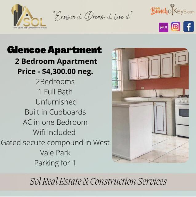 Two Bedroom Apartment – Glencoe