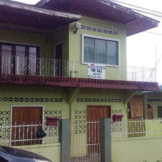 FOR SALE: Investment Property, Mohammed Street, (near Pasea), Tunapuna