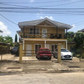 Orchard Gardens, Chaguanas- 1 bed 1 bath FF Apt For Rent