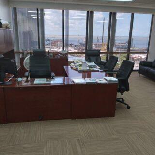 EXECUTIVE COMMERCIAL RENTAL 6TH FLOOR UTC BUILDING TT$129,050 PER MTH +VAT