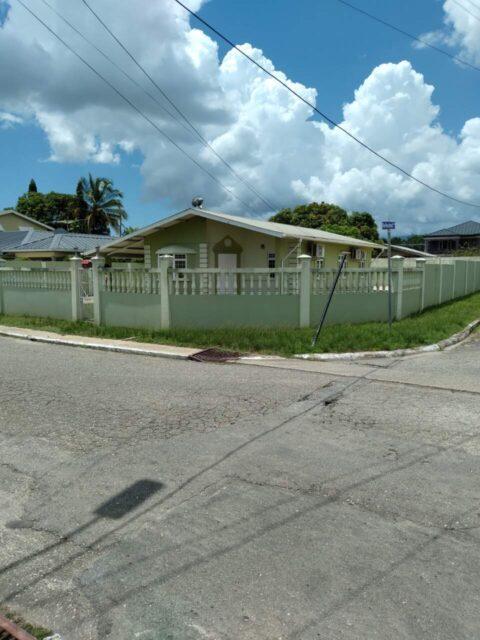 TRINCITY HOME FOR RENT TT$7,500 PER MTH
