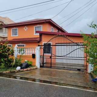 For Sale 2 Storey Home In Emerald Gardens Chaguanas