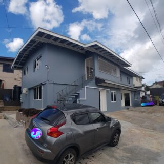 🏘️ Modern and spacious, 2 AC bedrooms, 2 baths, ground-floor, St Joseph apartment for rent.🏘️