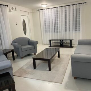 Fully furnished apartment for rent in Diego Martin