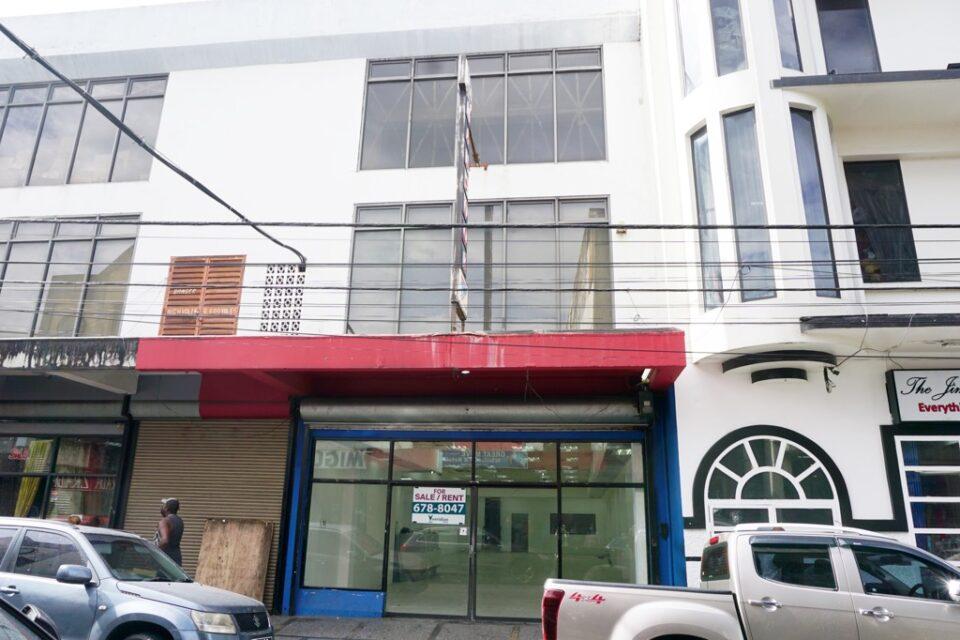 FOR SALE / RENT – Queen Street, Port of Spain – Prime retail location – TT$8,000,000 / TT$45,000 ONO