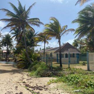 For Rent – Mayaro Guayaguayare Road, Mayaro – Furnished beach front house