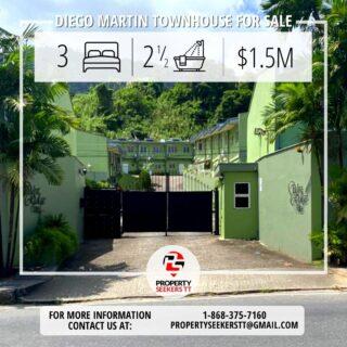 West Ridge Villas Diego Martin- 3 bdrm 2 bath